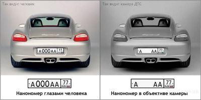 Нанопленка на номера купить в Каменске-Уральском